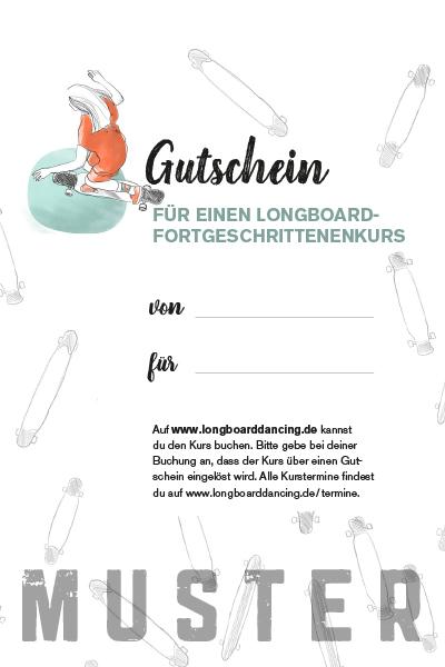 Gutschein für Longboard Kurs